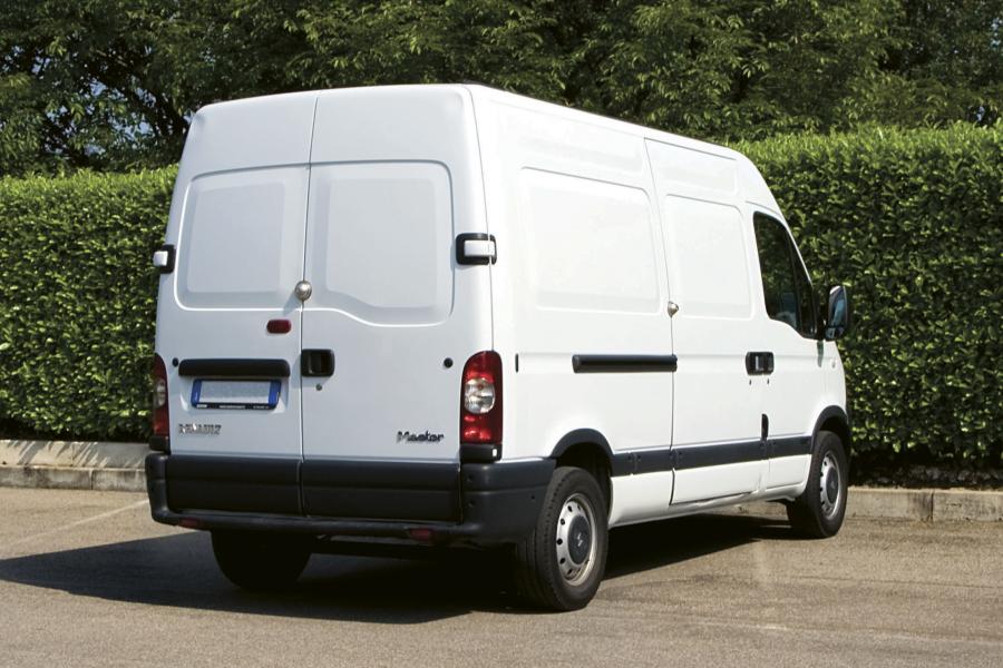 Turvalukko kuljetusautoihin, pakettiautoihin ja muihin työajoneuvoihin.