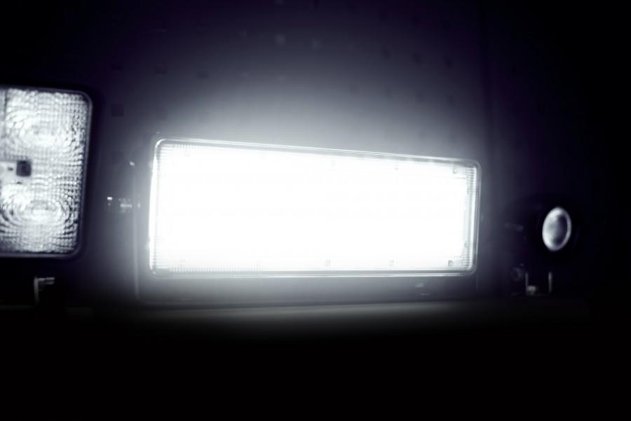 LED-työvalaisin, ajovalot ja työvalot