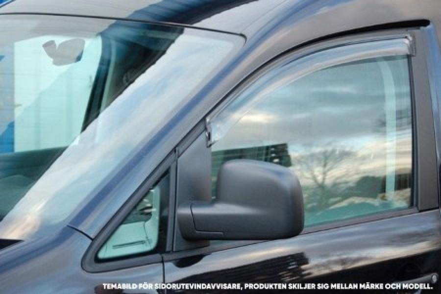 Sivuikkunoiden tuulenohjain (2 osaa) autoon VW Caddy 2016-.