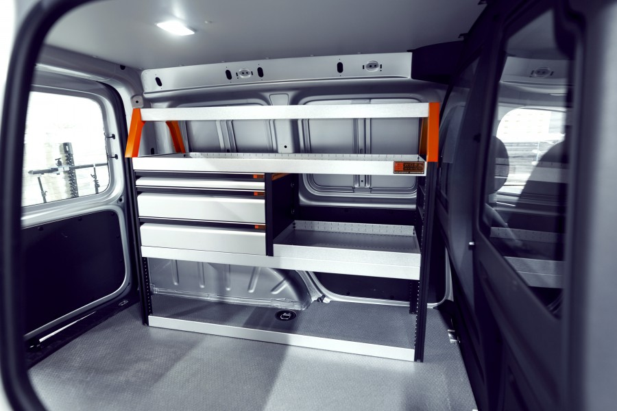 Kalustesarja Ls3 autoon VW Caddy | Work System